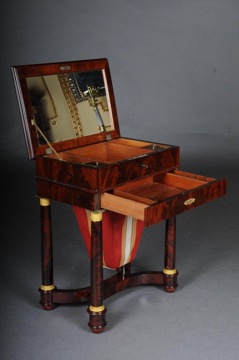 Antique Empire Sewing Table, Paris, circa 1810 For Sale 1