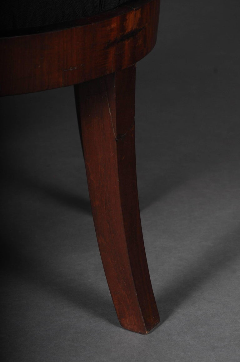 Antique Empire / Biedermeier Armchair, circa 1810, Mahogany For Sale 4