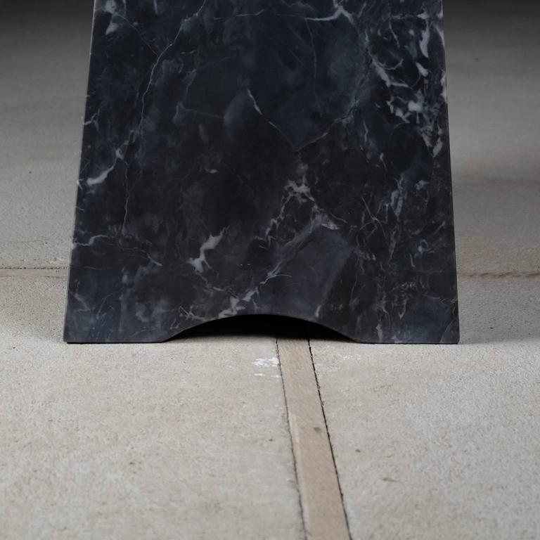 Coulee, Contemporary Marble Side Table For Sale 3
