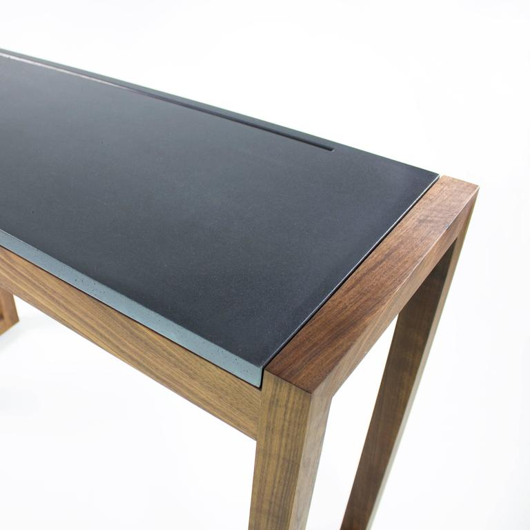George Modern Concrete Writing Desk For Sale At 1stdibs
