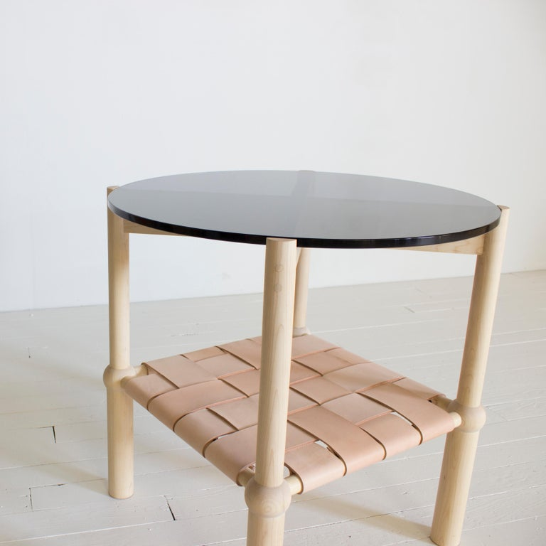 Blackened Mae Side and End Table For Sale