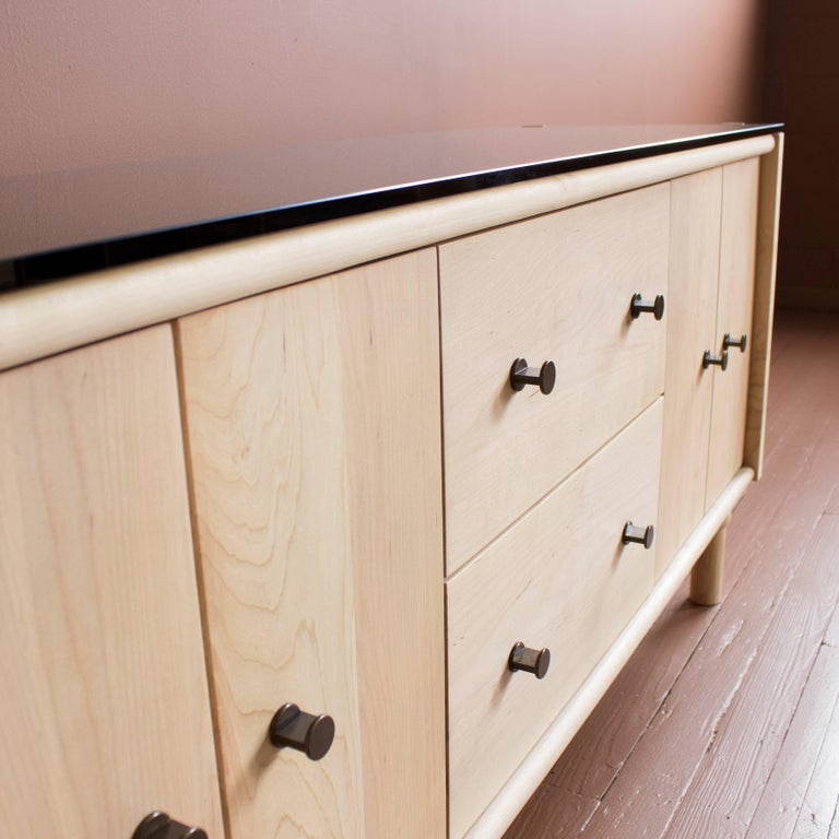 Bronzed Mae Credenza and Sideboard For Sale
