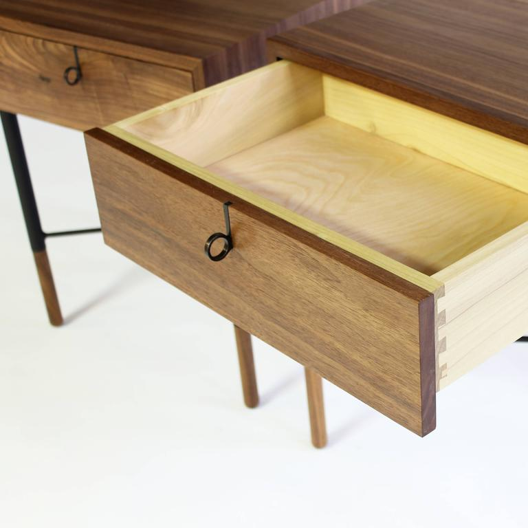 Phillip Walnut Nightstand and Side Table  5