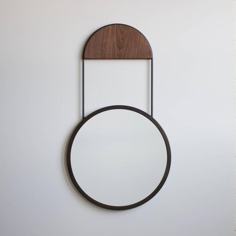 Modern Penny Hanging Wall Mirror For Sale