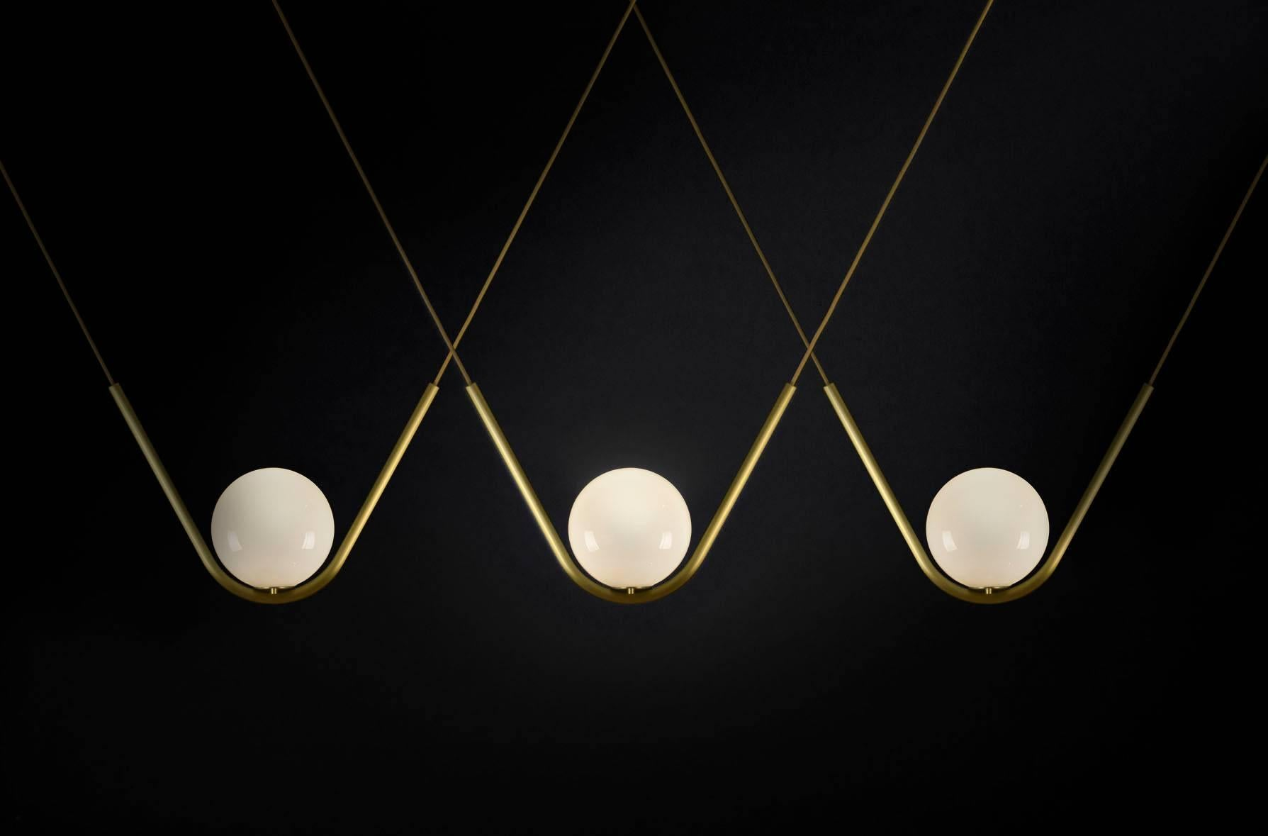 Perle 1 Is A Luxurious High End Lighting Fixture That Has Been Coated With  Warmth
