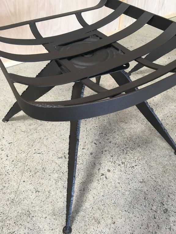 Torch Cut Brutal Swivel Chairs For Sale 1