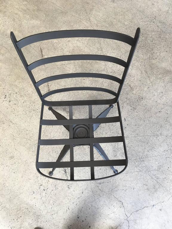 Torch Cut Brutal Swivel Chairs For Sale 2