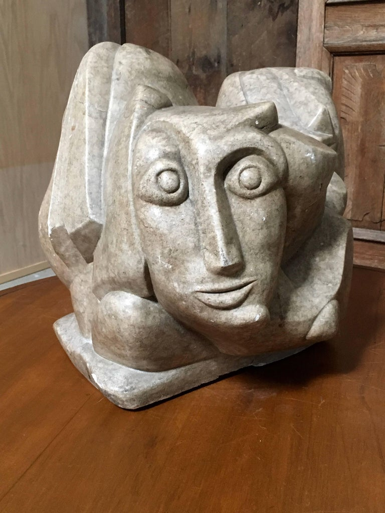 20th Century Abstract Marble Sculpture For Sale 1