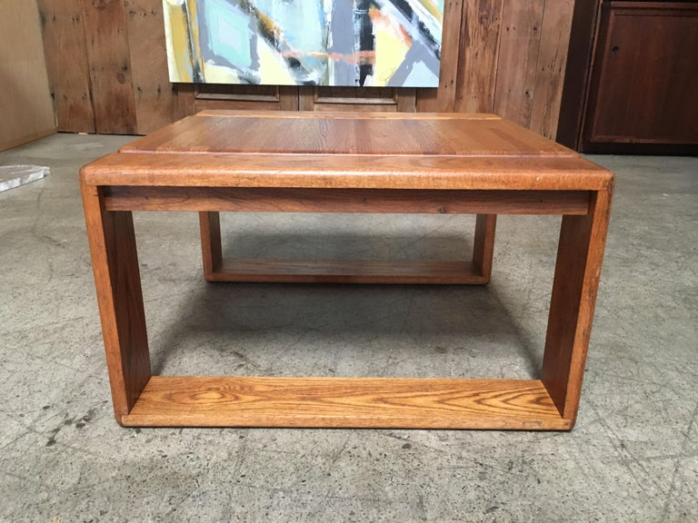 California Design 1970s End Table by Lou Hodges For Sale 2