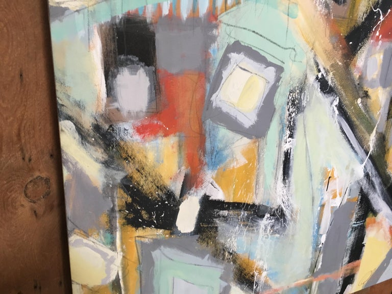 Abstract Painting by Ken Ohmert In Good Condition For Sale In Laguna Hills, CA