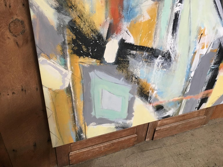 Contemporary Abstract Painting by Ken Ohmert For Sale