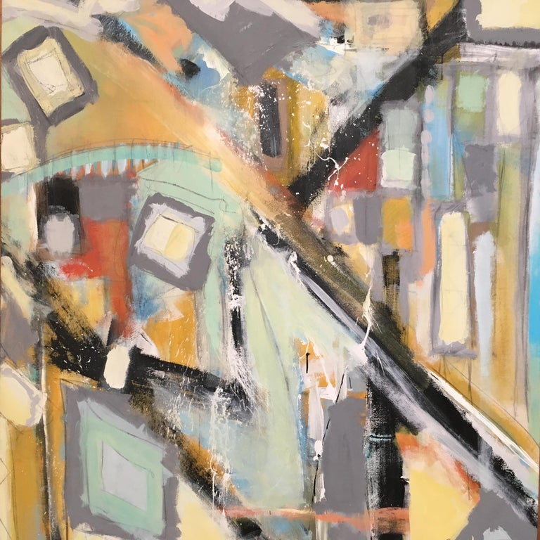 Abstract Painting by Ken Ohmert For Sale 1