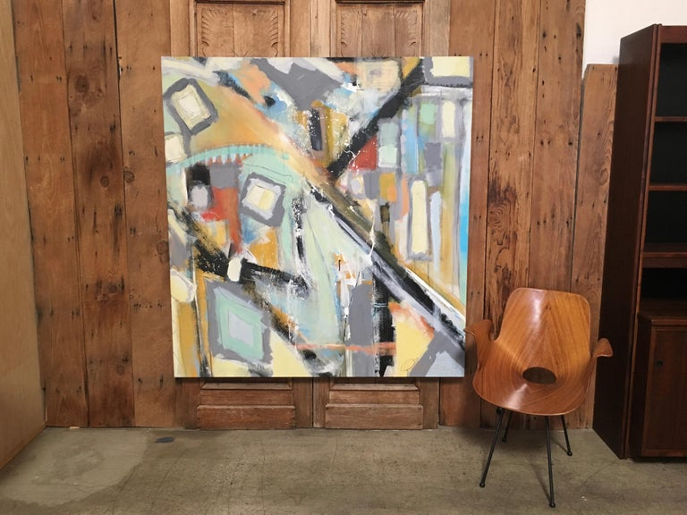 Abstract Painting by Ken Ohmert For Sale 2