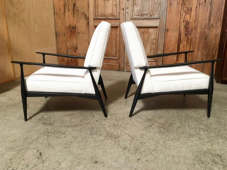 Mid-Century Modern Lounge Chairs by Paul McCobb For Sale