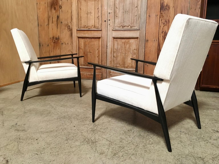 Wood Lounge Chairs by Paul McCobb For Sale