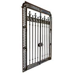 Monumental French Wrought Iron Gates