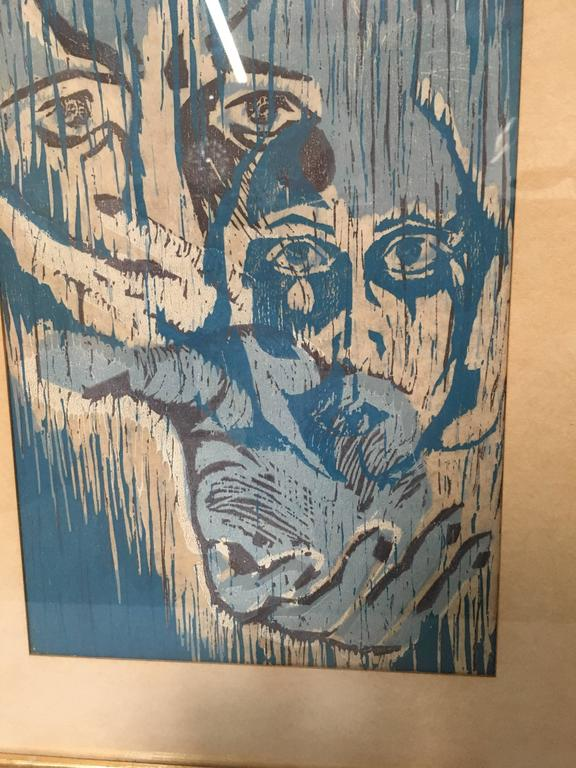 20th Century Block Print For Sale 1