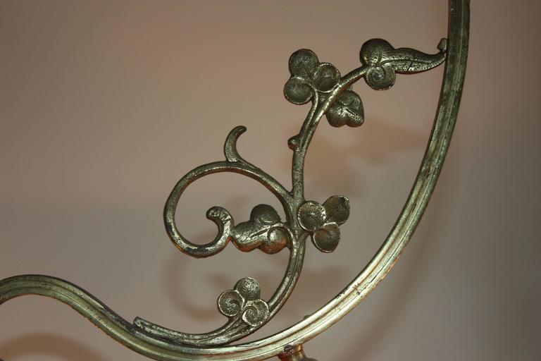 Late 19th Century Belle Époque French Gilt Bronze Chandelier, circa 1890s For Sale