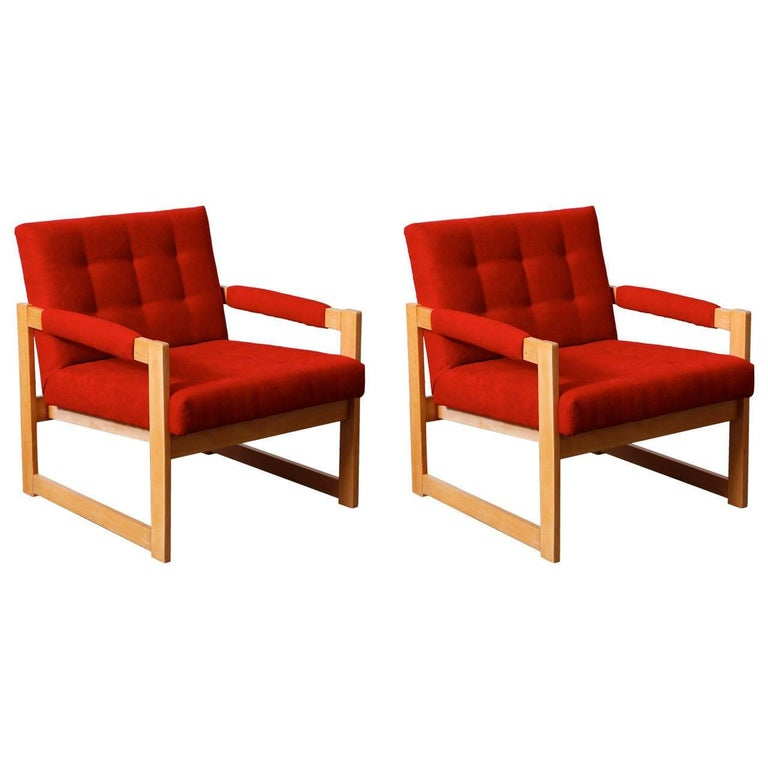 Pair of 1960s Armchairs For Sale