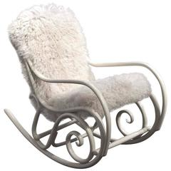 Rocking Chair N°21 by Thonet