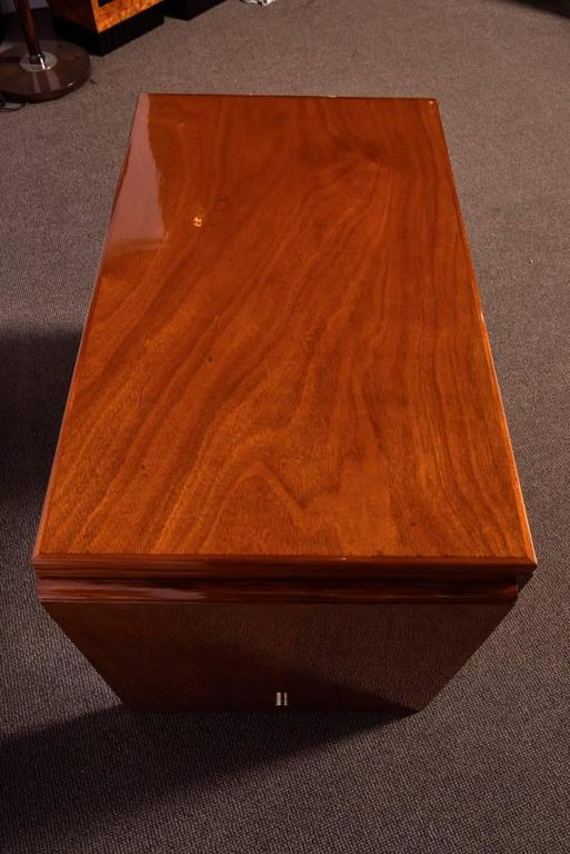 Art Deco Mahogany Desk For Sale 3