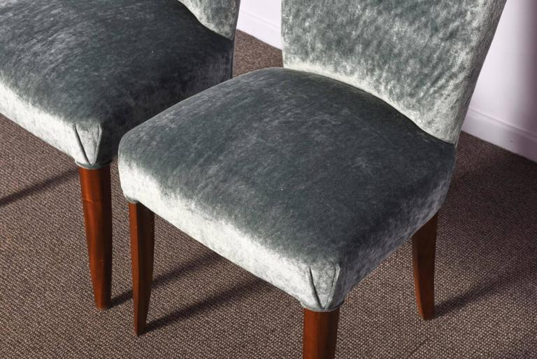 Set of Three Art Deco Chairs In Excellent Condition For Sale In Zaventem, Belgium