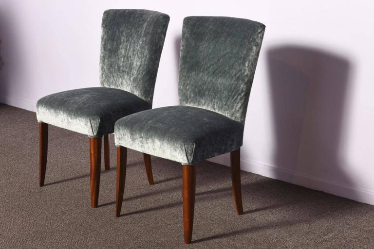 Set of Three Art Deco Chairs For Sale 1