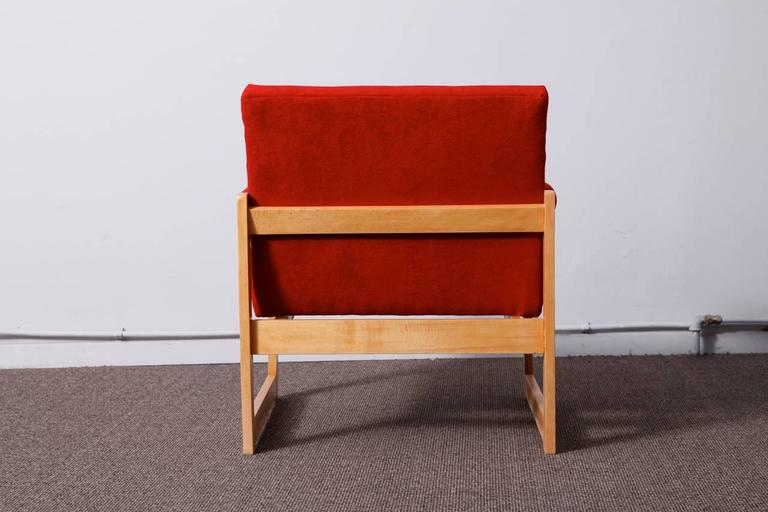 Mid-Century Modern Pair of 1960s Armchairs For Sale