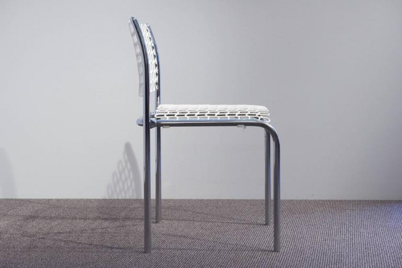 Soft Tech Stackable Side Chairs Thonet At 1stdibs
