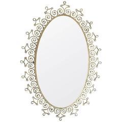 Italian Origin Art-Deco Mirror by Colli Pierluigi