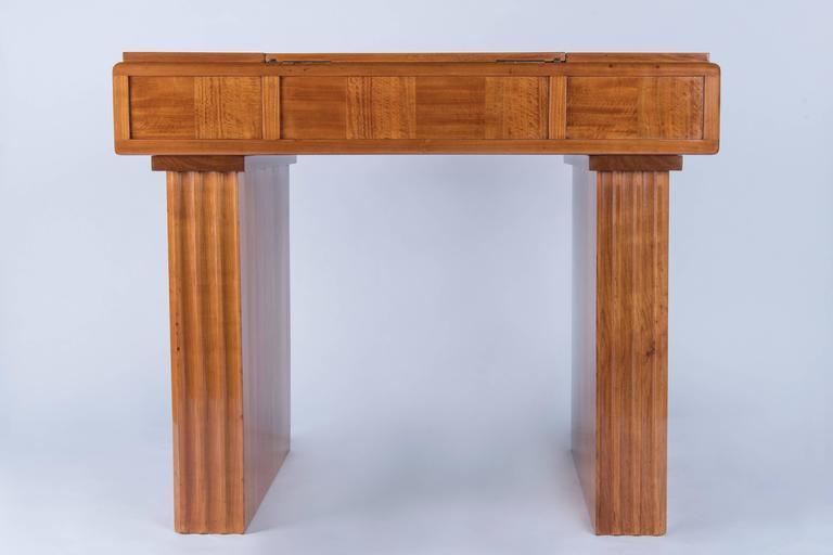 Fruitwood Art-Deco Vanity For Sale