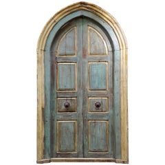 Monumental Mediterranean French Provincial Large Size Door, France
