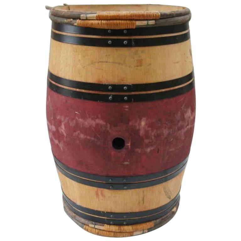 Authentic French Provincial Vintage Bordeaux Castle Wine Barrels
