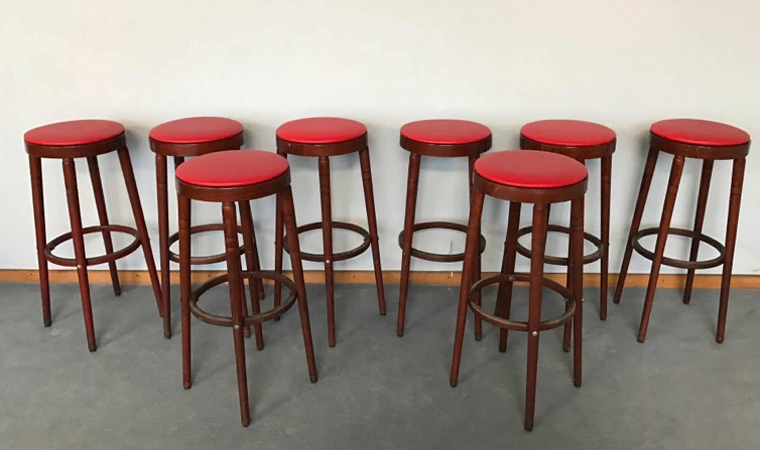 with bar welcome mid leather your stool modern this century decoreven red black stools uk design overstock into kitchen parisian
