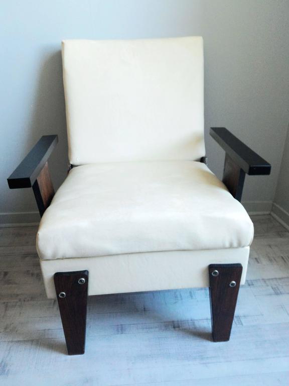 Mid century modern pair of armchairs brazil circa 1950 for sale at 1stdibs - Brazilian mid century modern furniture ...