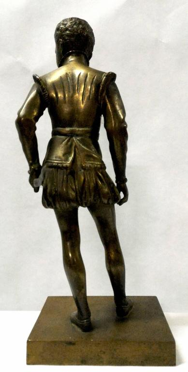 French Bronze Sculpture of Young Henri IV by Bosio, France, 19th Century For Sale
