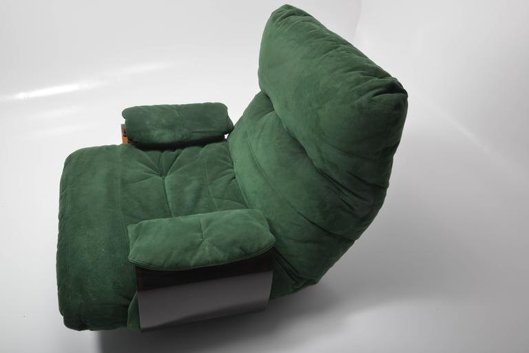 Green Buckskin Marsala Sofa by Ligne Roset For Sale 4