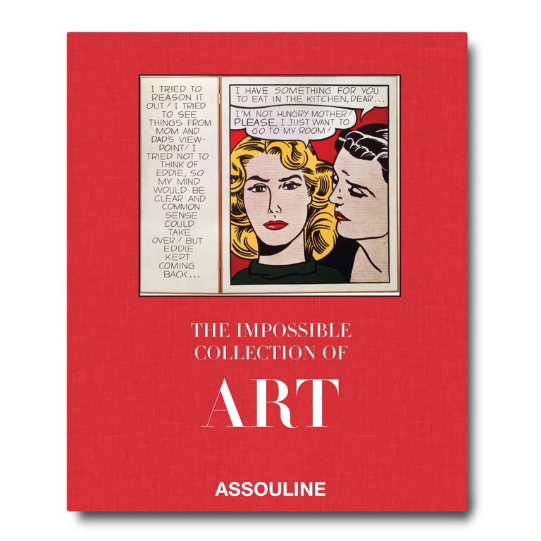 In The Impossible Collection of Art, Ségalot and Giraud curate the ideal contemporary collection- a collection in which money is no object and anything is possible. Whether
