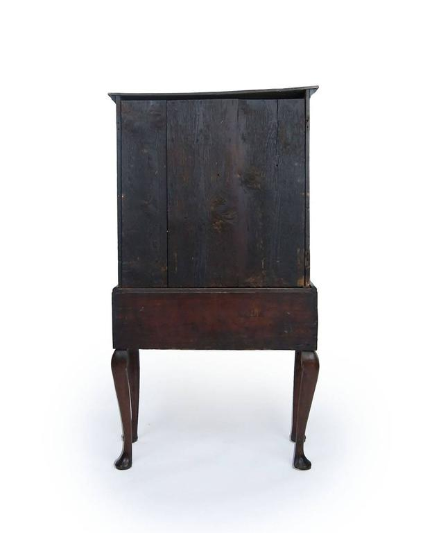 restored kitchen cabinets diminutive early 18th century georgian walnut highboy for 25533