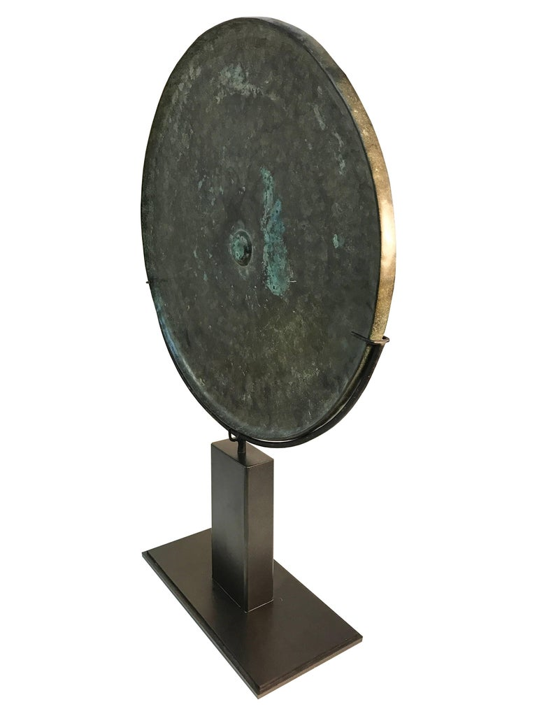 Other 15th Century, Bronze Mirror, Angkor Period, Art of Cambodia For Sale