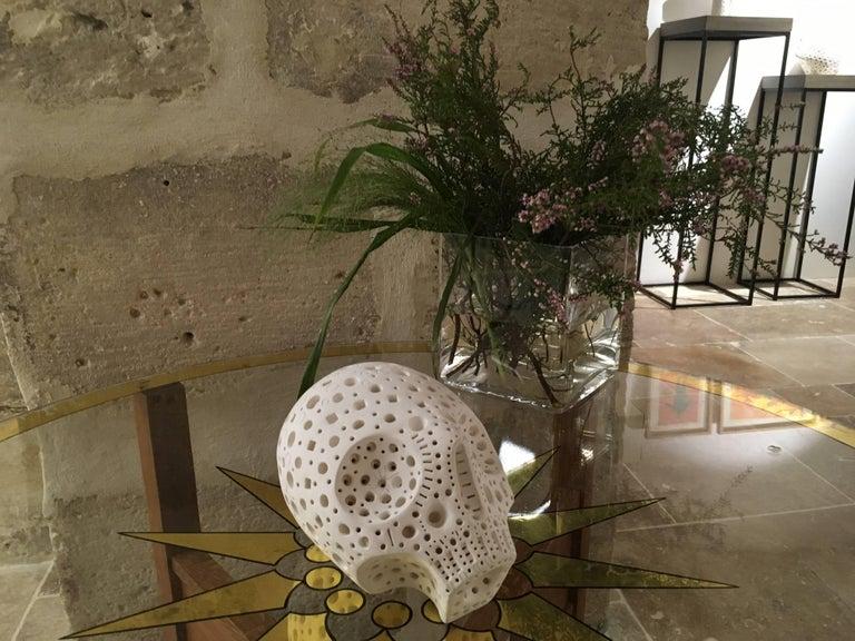 White Terracotta Sculpture by Alexandre Ney   For Sale 1
