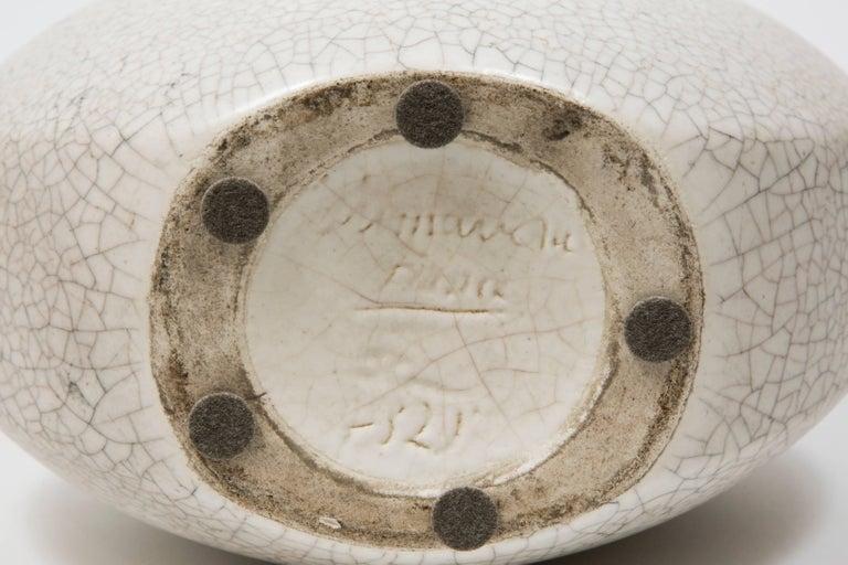 French Art Deco Ceramic Vase by Primavera For Sale 2