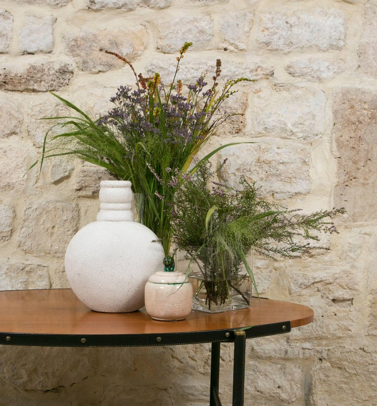 French Art Deco Ceramic Vase by Primavera For Sale 3