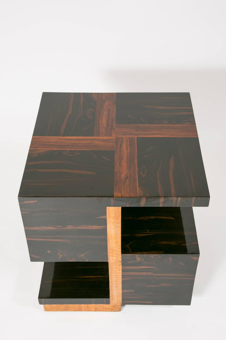 Art Deco Side Table by Jacques Adnet In Good Condition For Sale In Paris, FR