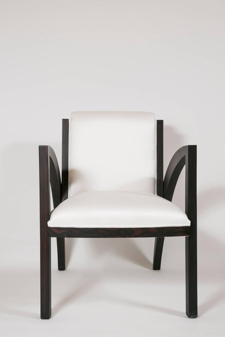 French Art Deco Special Limited Edition Armchair For Sale