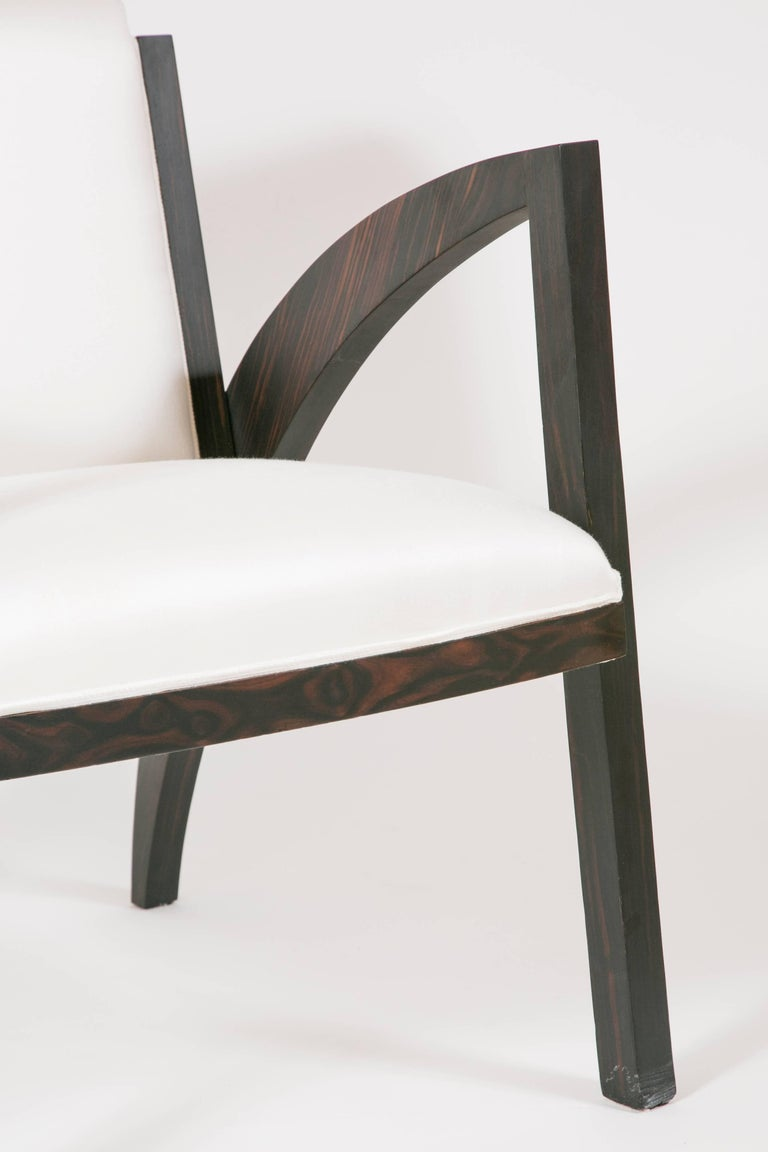 Contemporary Art Deco Special Limited Edition Armchair For Sale
