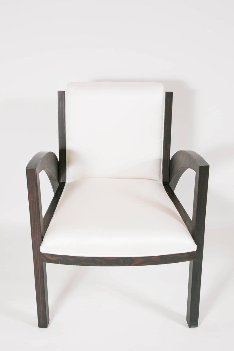 Cherry Art Deco Special Limited Edition Armchair For Sale