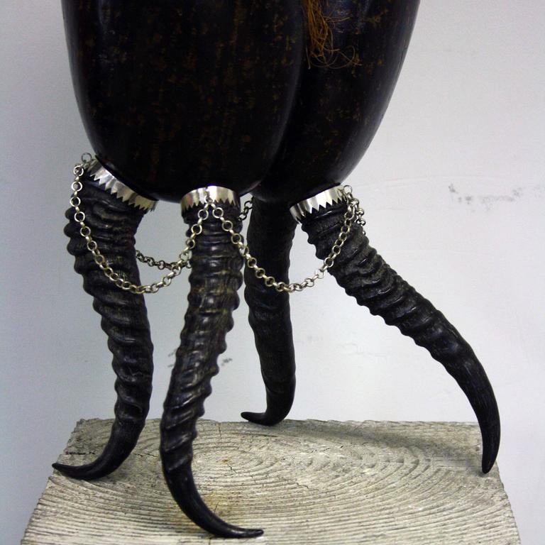 Coco De Mer Sculpture by Glyn Lockett For Sale 2