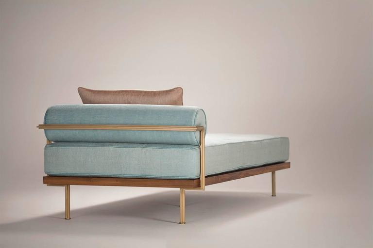 Sigmund Daybed in Solid Brass Frame Available in our Gallery, by P. Tendercool 5