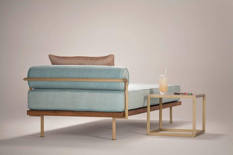 Sigmund Daybed in Solid Brass Frame Available in our Gallery, by P. Tendercool 7